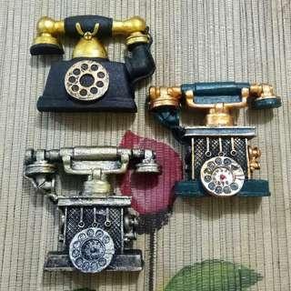 Magnet Kulkas Vintage Telephone Jadul Murah Di Jakarta
