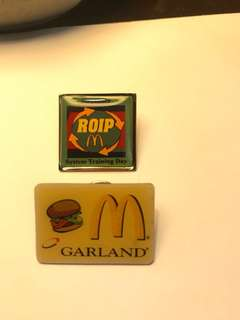 McDonald's Vintage Pins