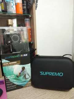 SUPREMO 4K PLUS DUAL SCREEN with Supremo Bag