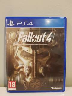 Fallout 4 Ps4 Like New!
