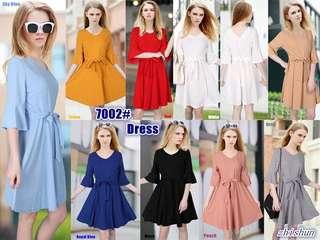3/4 CASUAL DRESS 7002 NC