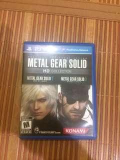 Metal Gear Solid PsVita