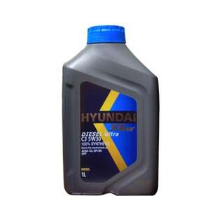 Hyundai Engine Oil For Diesel | XTeer C3 5W30 100% Synthetic - 1 Liter