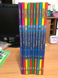 Time Life English-Time 幼兒英文圖書一套 共10本