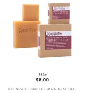 balinese herbal lulur natural soap