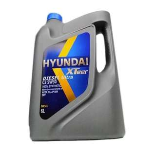 Hyundai Engine Oil For Diesel | XTeer C3 5W30 100% Synthetic - 6 Liters