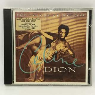 Celine Dion - The colour of my love cds