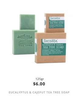 eucalyptus & cajeput tea tree soap