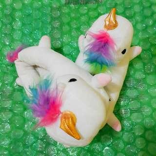 Comfy Unicorn Slip-ons