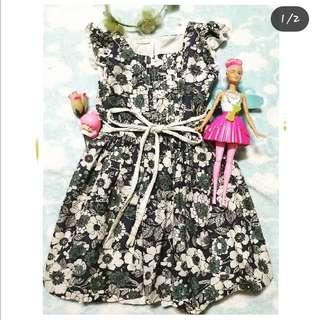 Floral dress 6-8t