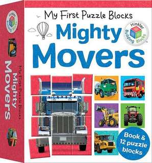 My first puzzle blocks: mighty movers