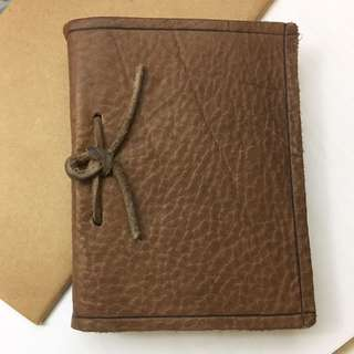 Leather notebook 真皮筆記簿