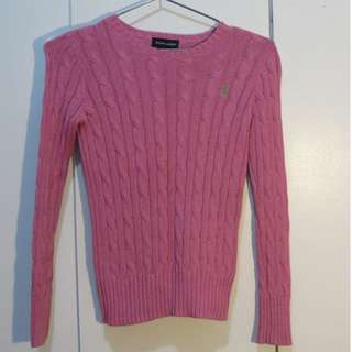 Ralph Lauren Pink Knitted Sweater