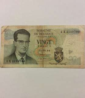 Vingt Francs 20