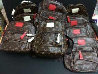 LV Louis Vuitton Inspired Women Mini Backpack