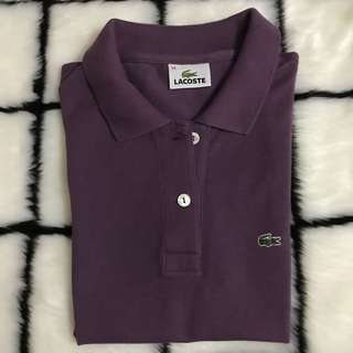 Authentic Lacoste Polo Violet