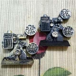 Magnet Kulkas Vintage Proyektor