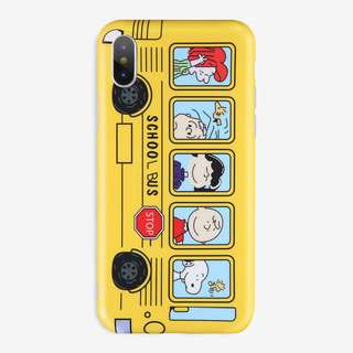 YELLOW BUS Iphone Case