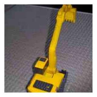 'Komatsu' miniature digger/scoop