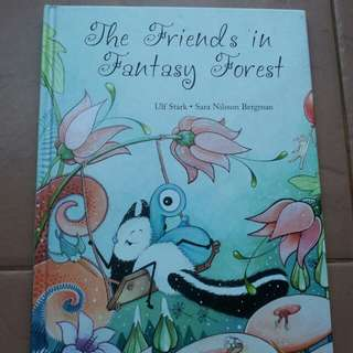 Book The friends in fantasy forest by sagoskatt from ikea