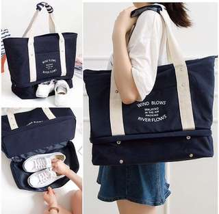 Wind Blows Canvas Tote Bag