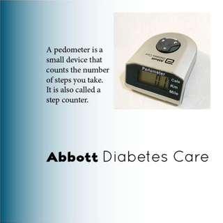 🚚 Abbott Diabetes Care Pedometer