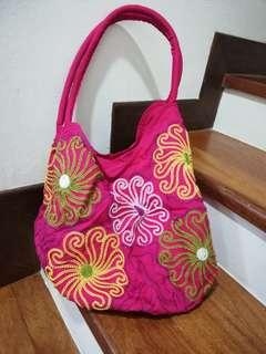 Pink colour bag