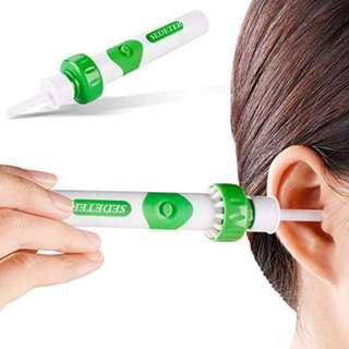 615.  SEDETER New Upgrade Electric Massage Ear Wax Removal Kit Soft Ear Wax Cleaner /Ear-pick/Curette