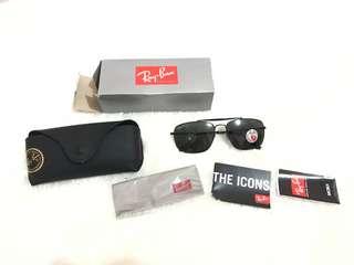 Ray Ban The Colonel RB3560 Black Original Sunglasses