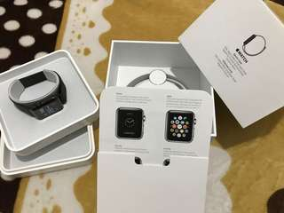 Apple Watch stainless steel black 38mm