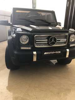 Luxury electrical kids car Mercedes Benz