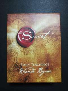 THE SECRET (Daily teachings by Rhonda Byrne)