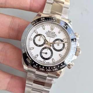 多年誠信面交 Rolex daytona 116500 白面 40mm 計時 陶瓷 AR廠
