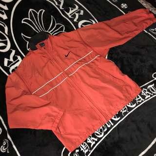 🚚 古著 老品 NIKE AGASSI 兩件式 袖子可拆 背心 薄外套 撞色 尼龍 電繡Logo 網眼 透氣網 休閒外套