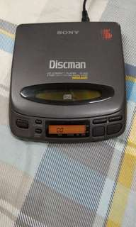 SONY D-202 高級DBB原装日本制造CD播放機(可借讀不到碟,
