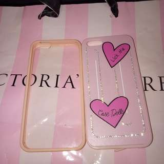preloved Case warna pas pink Iphone 5/5S/5SE