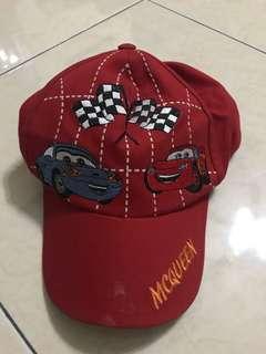Topi anak cars