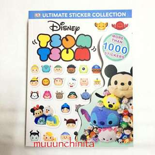 Tsum Tsum Sticker Book