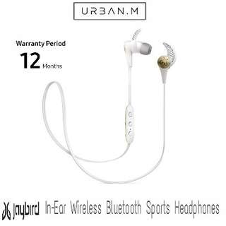 Jaybird X3 In-Ear Wireless Bluetooth Sports Headphones (White Gold)