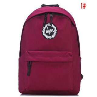 Maroon Red Hype Backpack