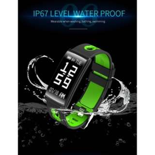 (636)Smart Sports Watch Wristband Blood Pressure/Blood Oxygen/Heart Rate Monitor