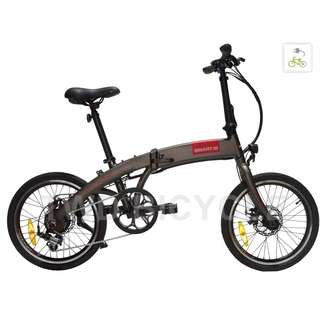 """EBIKE LTA APPROVED PAB, 20"""" FOLDABLE LIGHTWEIGHT, SMART1S by APOLLO ITALY. LOCAL WARRANTY"""