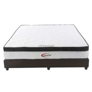 SLEEP V Queen Spring Mattress 10 inches