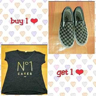 Vans shoes ❤ buy 1 get 1