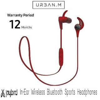 Jaybird X3 In-Ear Wireless Bluetooth Sports Headphones (Red)
