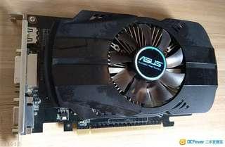 二手 ASUS 華碩 GTX750 1GB D5 Display card 顯示卡 不用外接電 GTX750-FML-1GD5