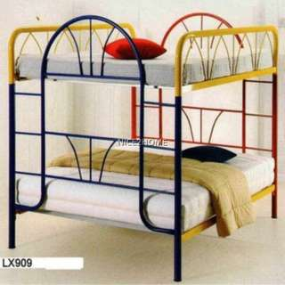 Queen Over Queen Bunk Metal Bed Frame