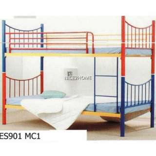 Single Bunk Convertible to 2 Single Metal Bed Frame