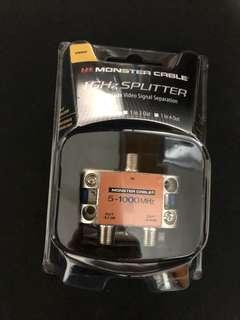 Monster Cable 1 ghz splitter