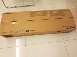 Brand New Sony TV Stand with speaker